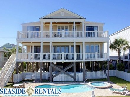 Garden City Beach Vacation Rental Home The Majestic Dream With