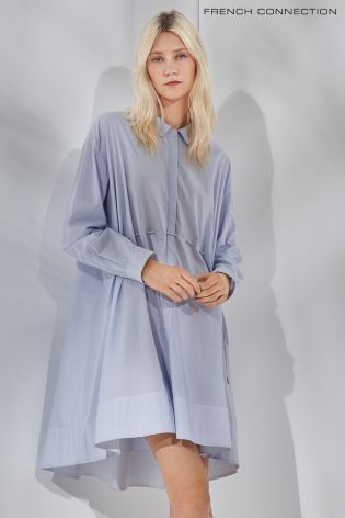 2d06fe3a77d Buy French Connection Blue Smithson Stripe Dress online today at Next:  Israel