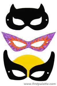 DIY Superhero Costume : DIY Superhero Mask Craft :Halloween   All ...