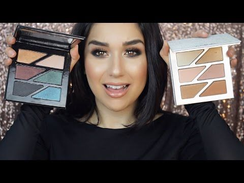 YouTube estee edit face glow and gritty palette