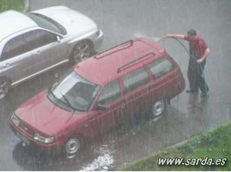 Siempre es un buen momento para lavar el auto