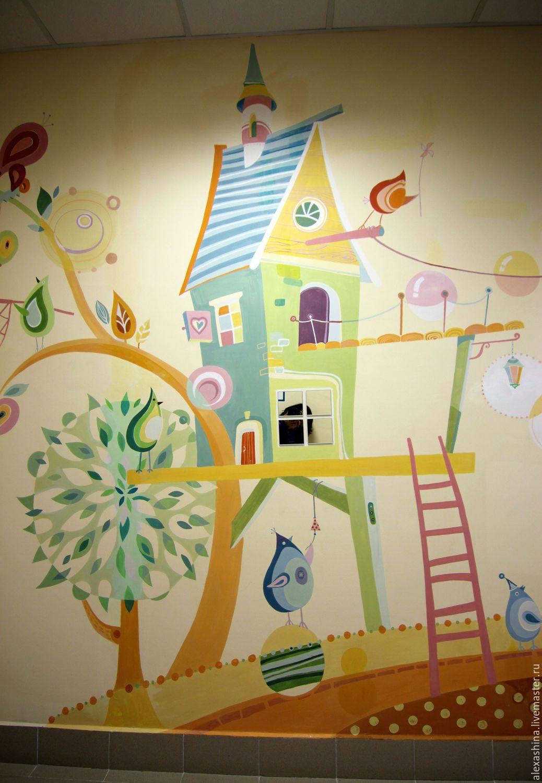 Чем украсить стены в детском саду своими руками фото 992