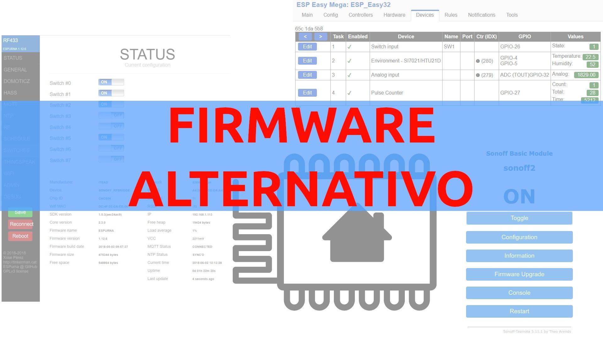Novedad: Vídeo: Os hablo de los firmware alternativos más usados