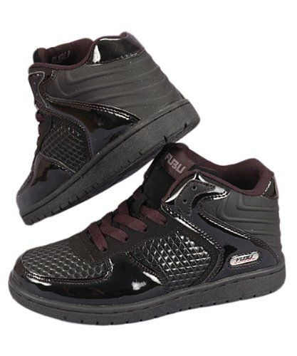 : Fubu Gravity 2 Hi Black Sneakers Size 4: Shoes