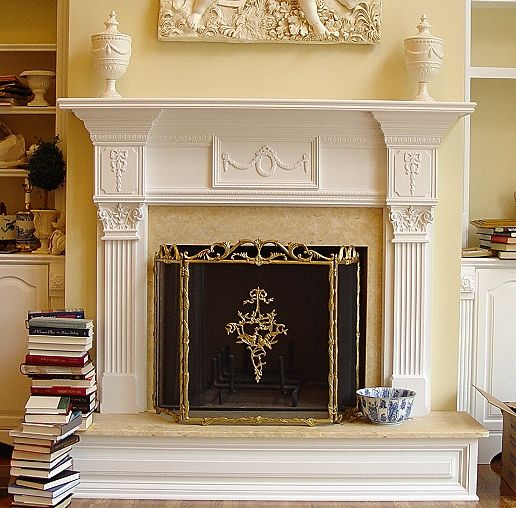 Raised Hearth Fireplace Designs: Pin On Living Room