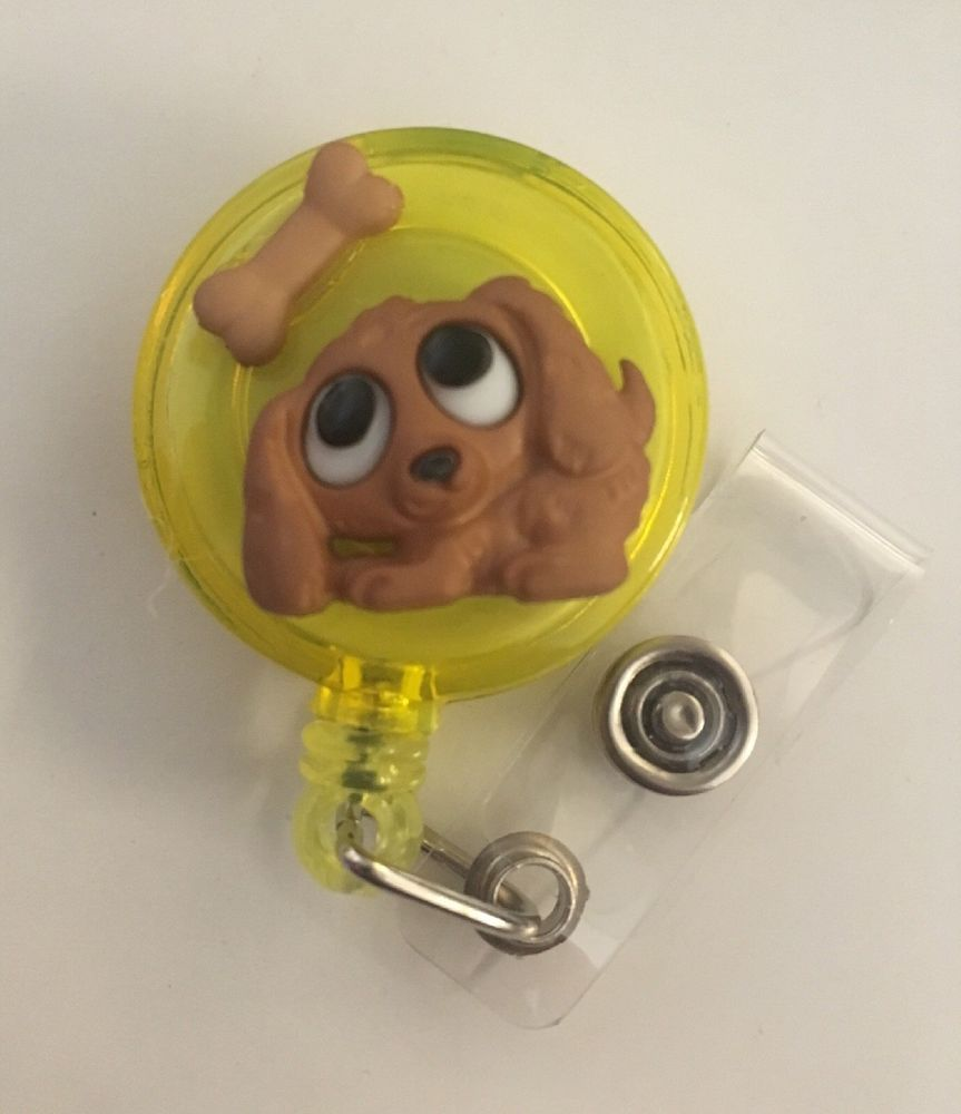 1 x Cardio ID Badge Reel Holder Clip Holder Retractable Nurse Cute RN Medical