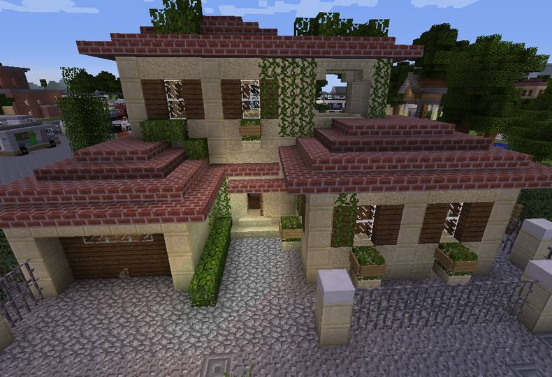 Small Sandstone House Grabcraft Your Number One Source For
