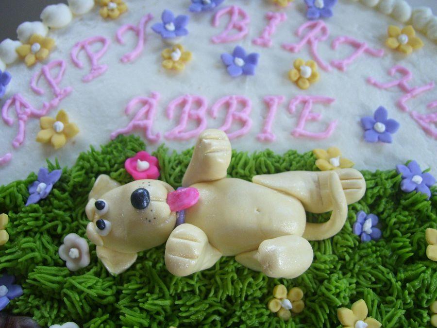 Puppy dog cake with images puppy dog cakes dog cake