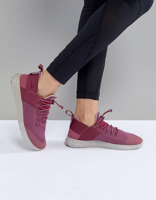 ed384effe0fa Nike Running Free Run Commuter Trainers In Pink
