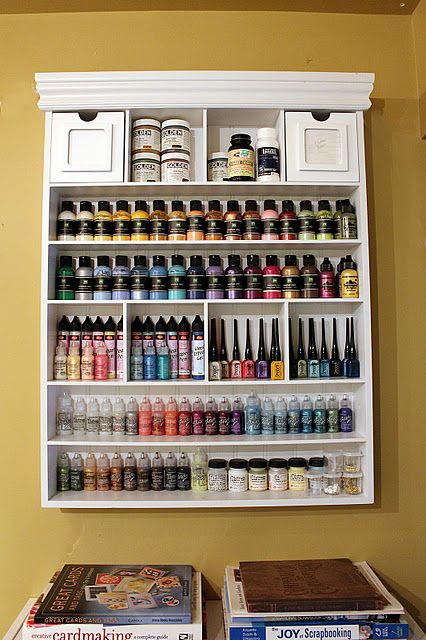 wall unit for paint etc. I need something for my paint and this is ...
