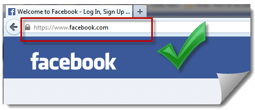 Facebook login home