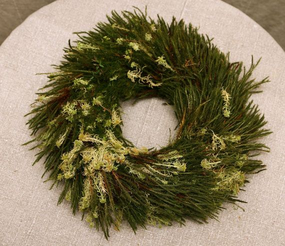 Forest fairy tale.Advent wreath,Door decor,door decoraton,Advent candle holder, Christmas wreath, Winter wreath set, moss wreath, Natural