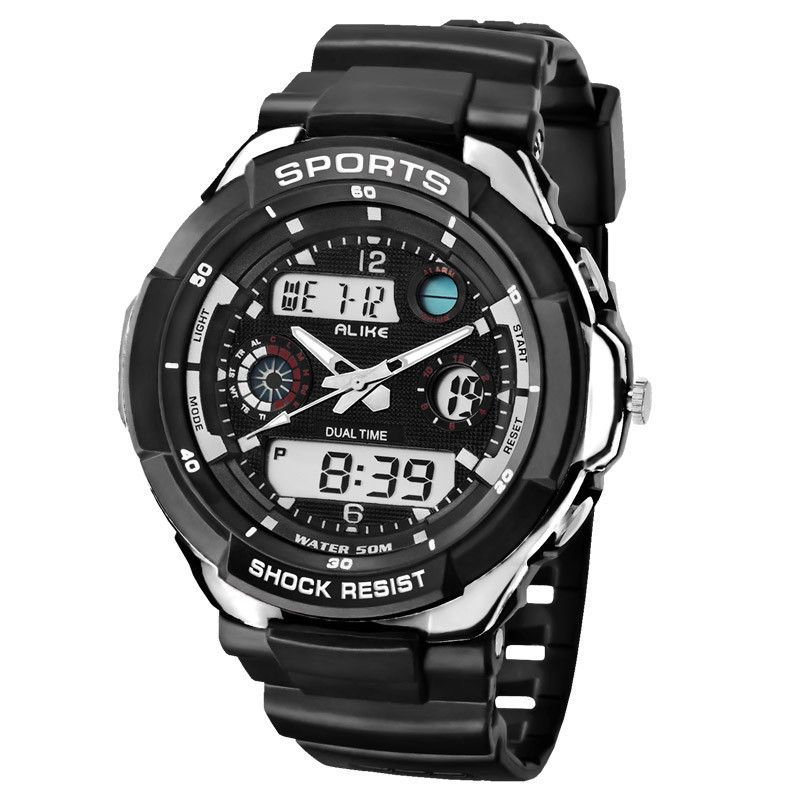 Dropship Sports Men Watches Luxury Brand LED Electronic