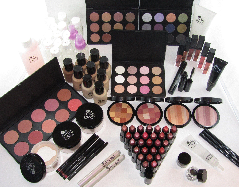 M4B Pro Full Makeup Kit Makeup kit, Makeup items
