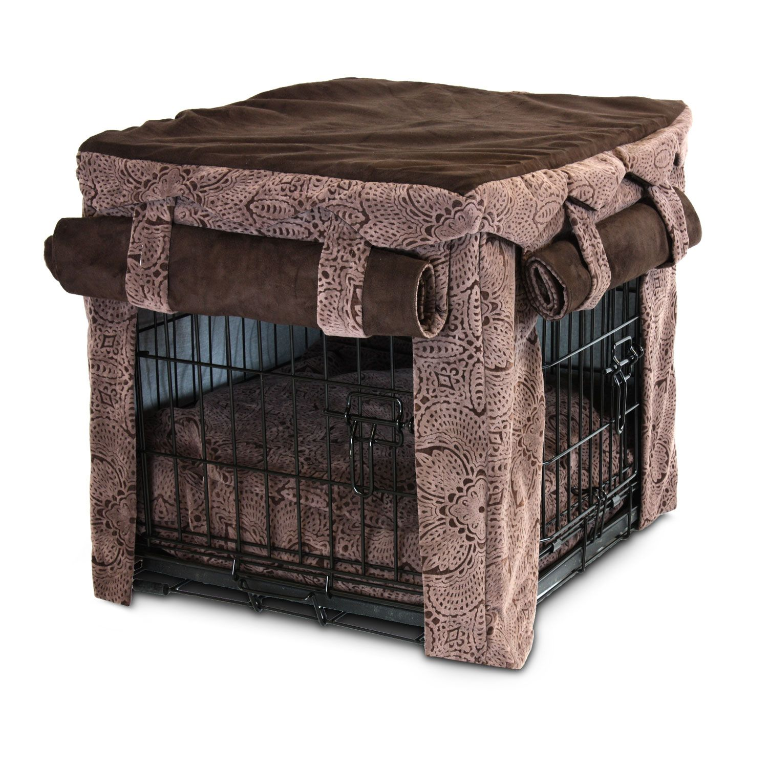 Snoozer Cabana Crate Cover with Matching Pillow Pet Bed in