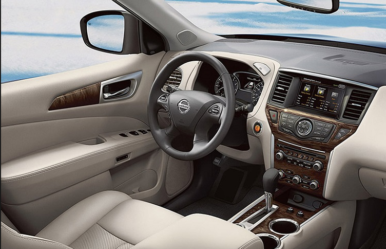 Nissan Pathfinder 2019 Interior Design Look