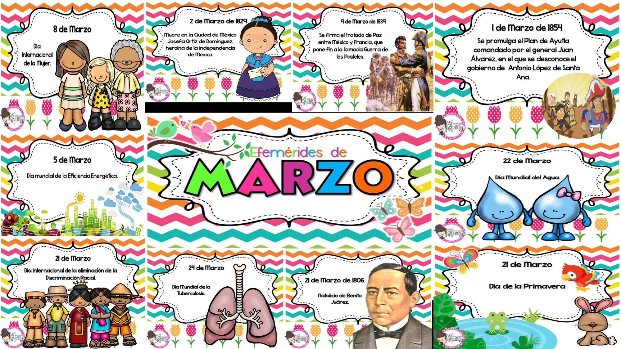 30 ideas de Efemerides marzo en 2021 | efemerides de marzo, marzo,  periodico mural marzo