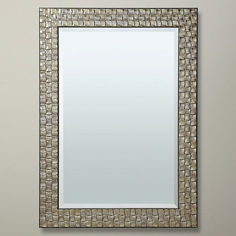 John Lewis Mosaic Mirror Gold