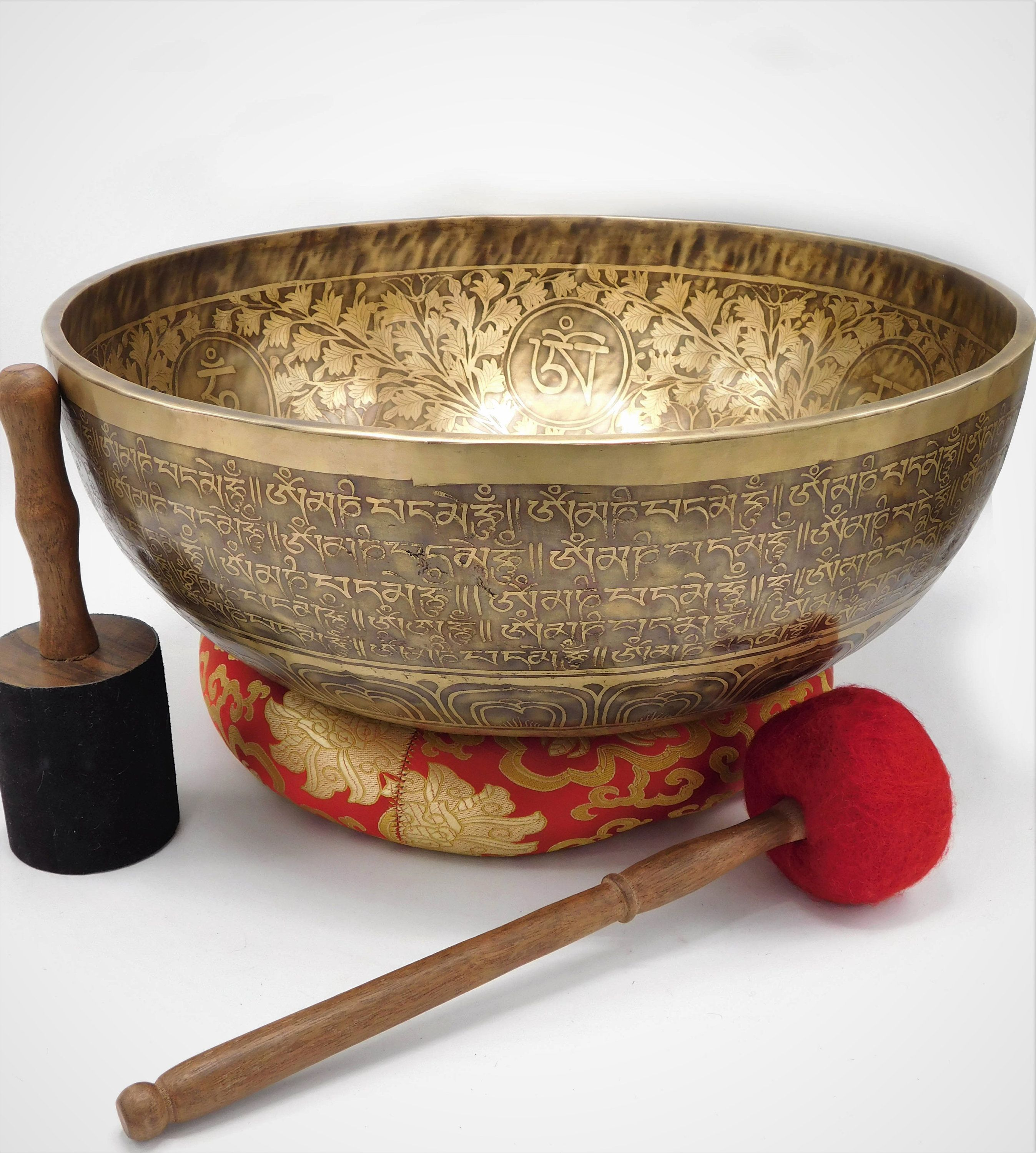how to cleanse and charge crystals with singing bowl
