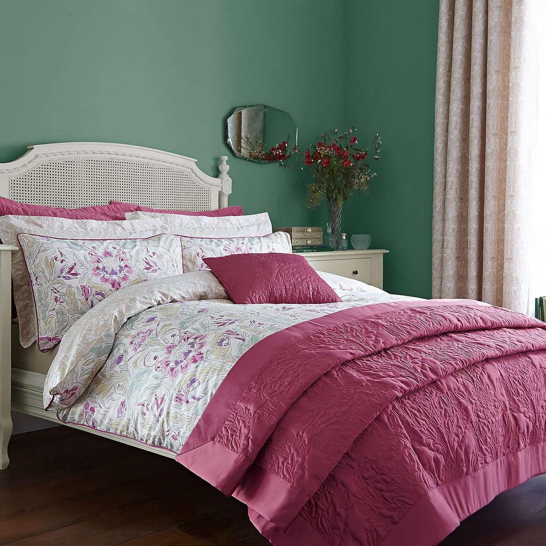 Raspberry Bedroom Delilah Raspberry Duvet Cover Set Dunelm Duvet And Matching