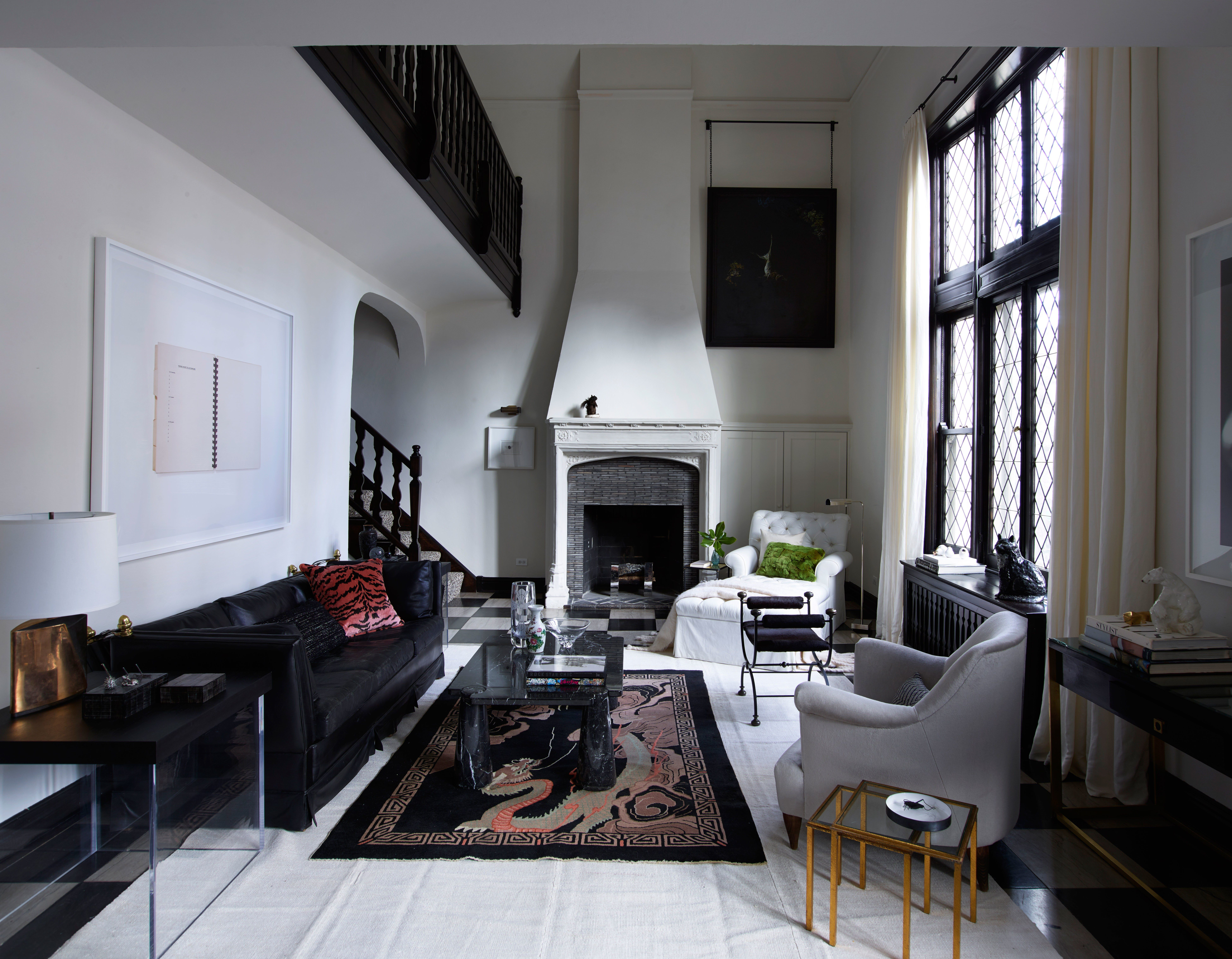 In designer kara manns 1920s gold coast apartment charming architecture and dramatic details exist in harmony