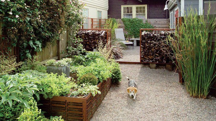 7 Inspiring Lawn-Free Yards | Lawn, Small garden design and Small ...