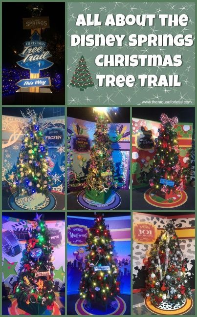 disney springs christmas holiday events including the new disney springs christmas tree trail meet santa a drone holiday show and more