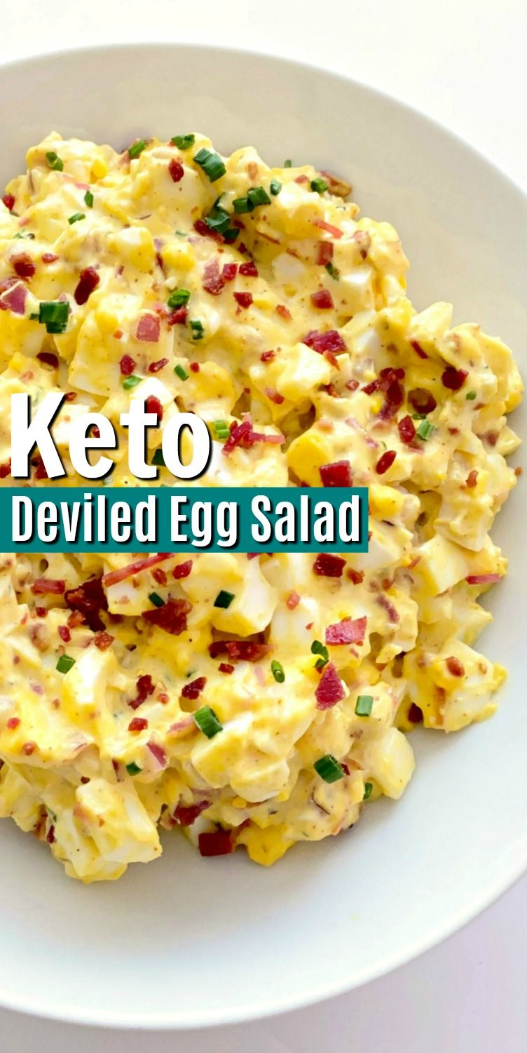 Keto Deviled Egg Salad