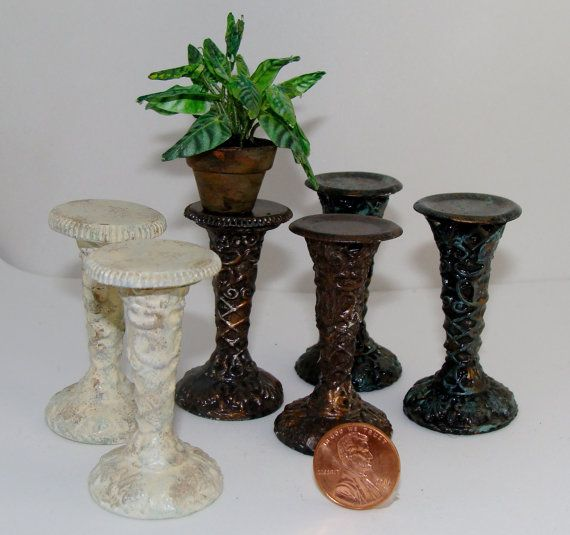 Hey, I found this really awesome Etsy listing at https://www.etsy.com/listing/177925540/round-pedestal-planters-ooak-1-12th