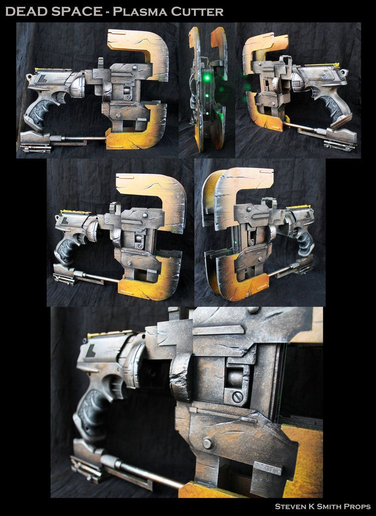 Dead Space Plasma Cutter By Sksprops On Deviantart Dead Space