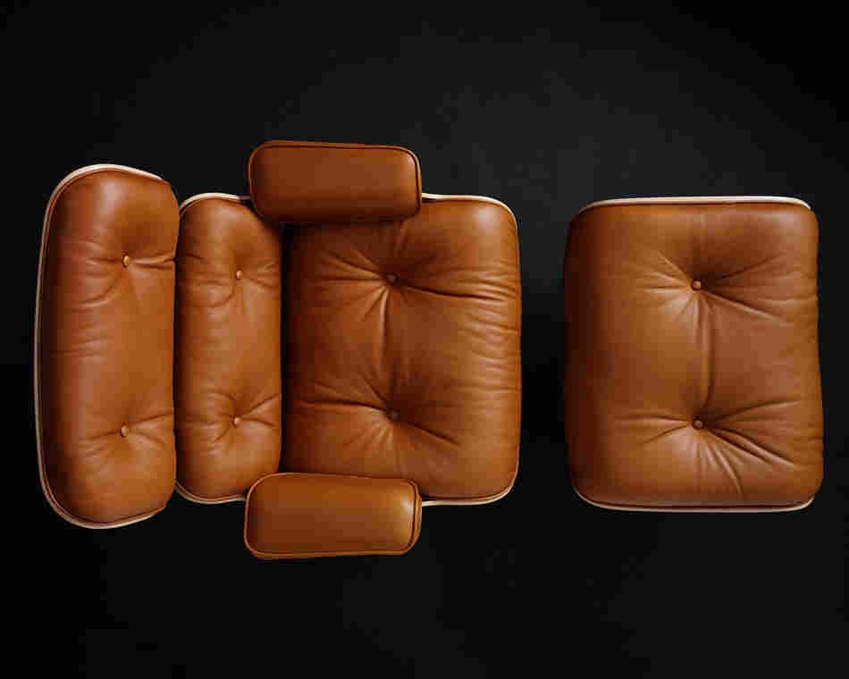 Eames Lounge Chair Ismail Pin By OttomanLuxury Rebbane And On uTFK31cJl