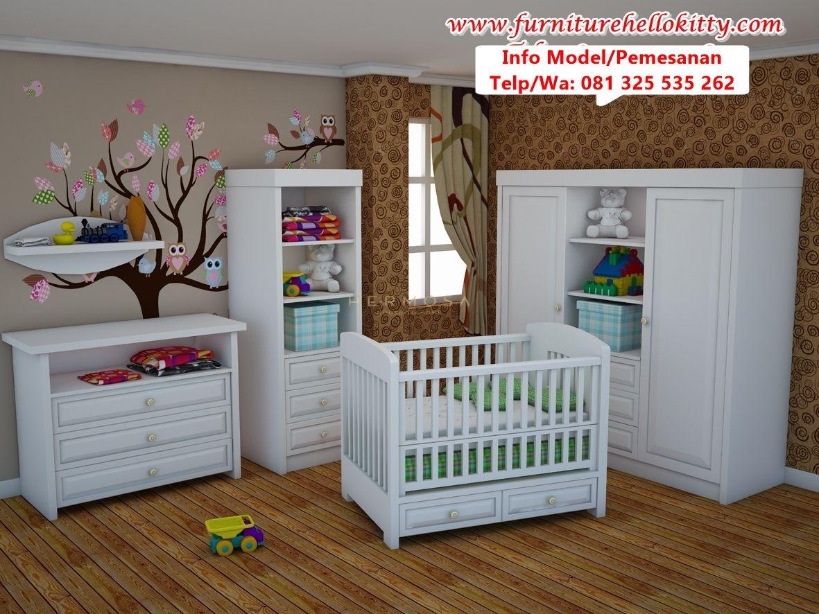 Desain Set Tempat Tidur Bayi Paling Por Deskripsi 1 R Modern