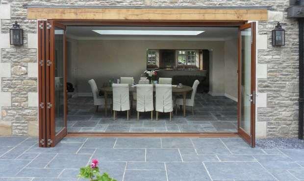 How To Plan Your Bifold Doors Real Homes Sliding Folding Doors Patio Remodel Barn Style Doors