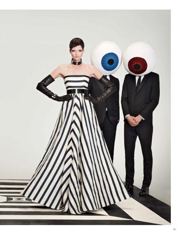 W Magazine - Optical Allusions