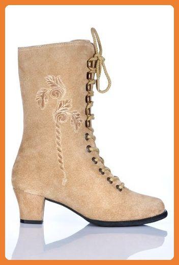 quality design 8dba0 85d2e Spieth & Wensky Trachten Damen Stiefel - INA - natur Größe ...