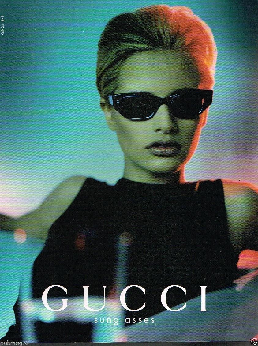 Gucci 90s Vintage Sunglasses Sunglasses Vintage Fashion Poster Gucci Campaign