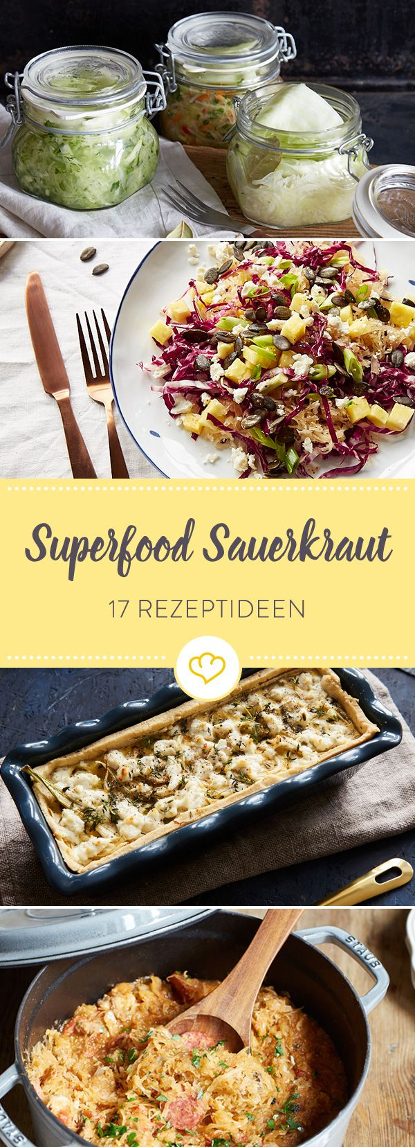 17 Sauerkrautrezepte, die Lust auf die kalte Jahreszeit machen