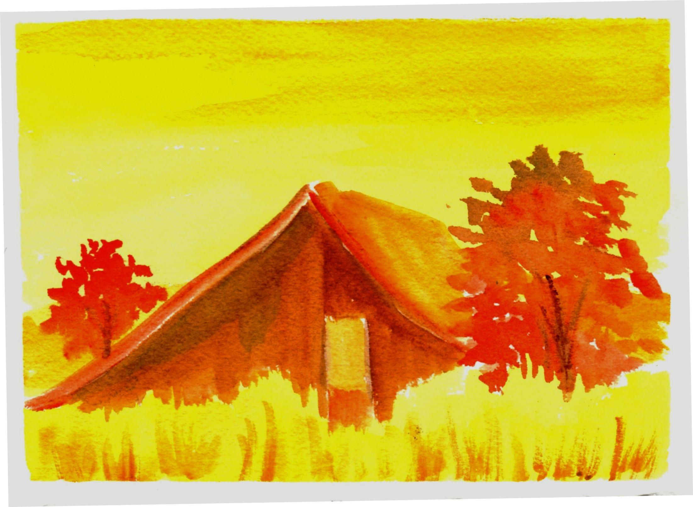 Ogous Color Scheme Watercolor Art
