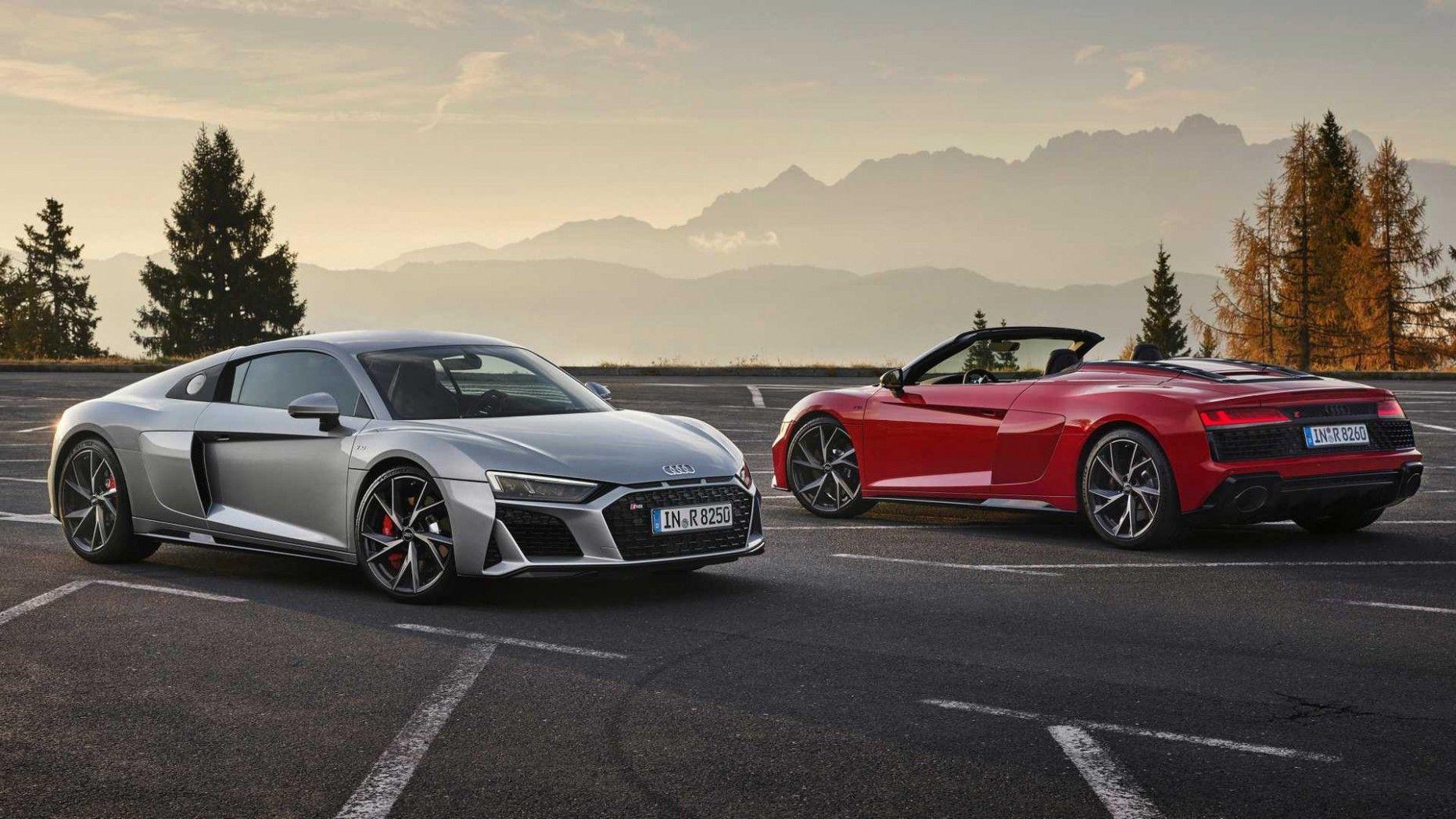 2021 Audi R8 V10 Spyder New Review In 2020 Audi R8 V10 Audi Supercar New Audi R8