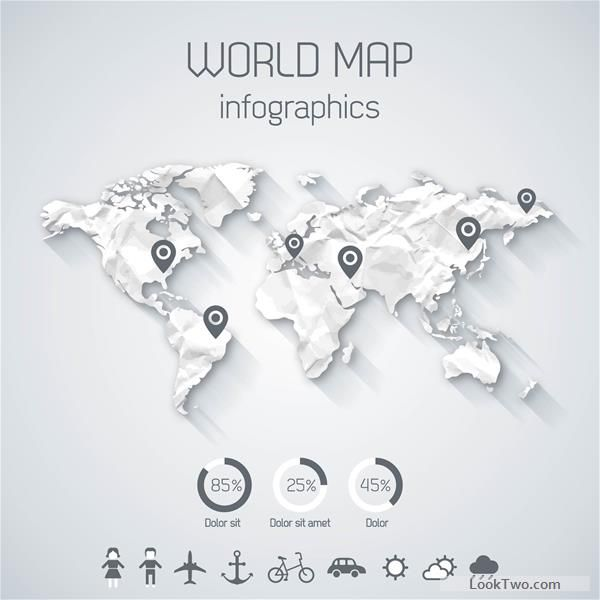 Free creative world map and infographics vector graphics 03 vector free creative world map and infographics vector graphics 03 vector download gumiabroncs Gallery