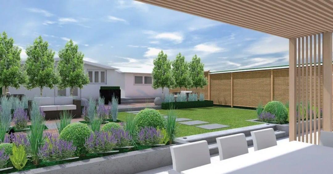 Everchanging Garden Design On Instagram Garden Design 3d View Radlett This Is One Of The Services We Offer At Everchanging In 2020 Garden Design Design Plant Design