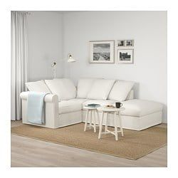 Gr 214 Nlid Corner Sofa 3 Seat With Open End Inseros White