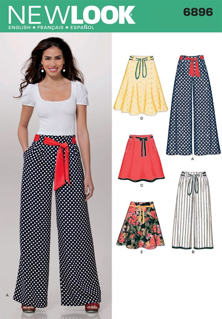 SEWING PATTERNS ~ NEW LOOK 6896 | ~ SEWING PATTERNS ~ | Pinterest