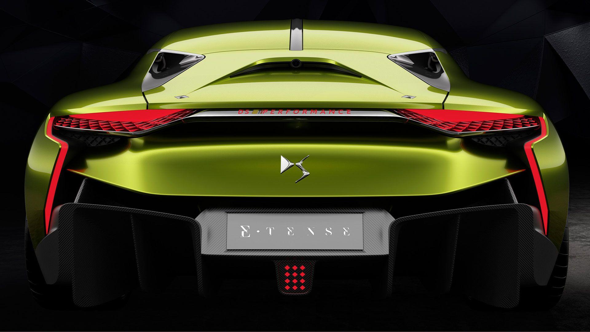DS E Tense Concept un deportivo eléctrico premium