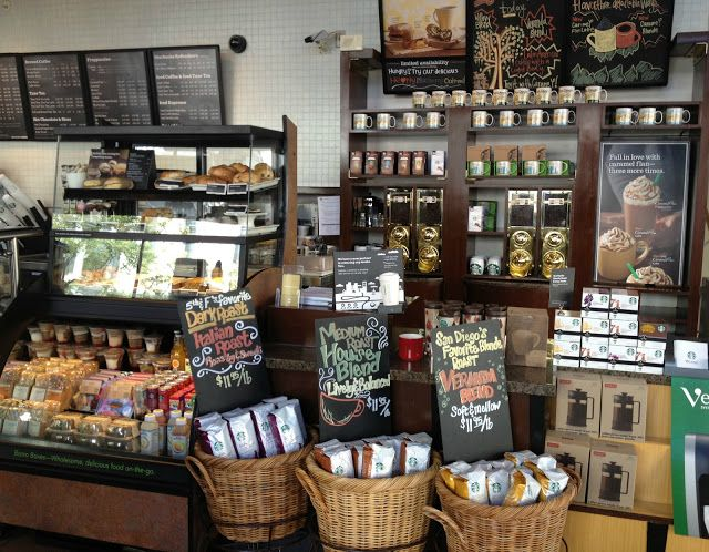 starbucks store display starbucks pinterest picerie agencement magasin et magasin. Black Bedroom Furniture Sets. Home Design Ideas