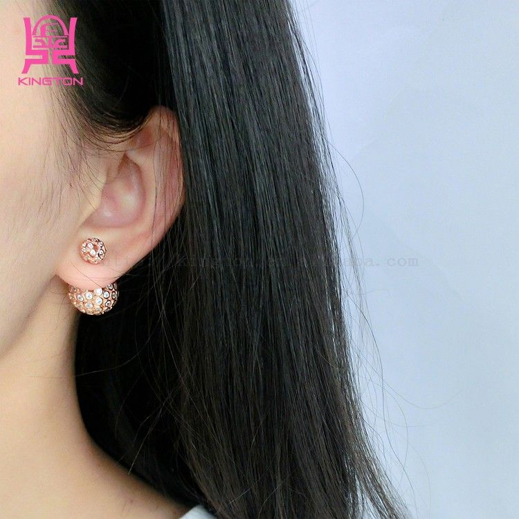 Fashion Jewelry Made In China Whole Silver Earring View