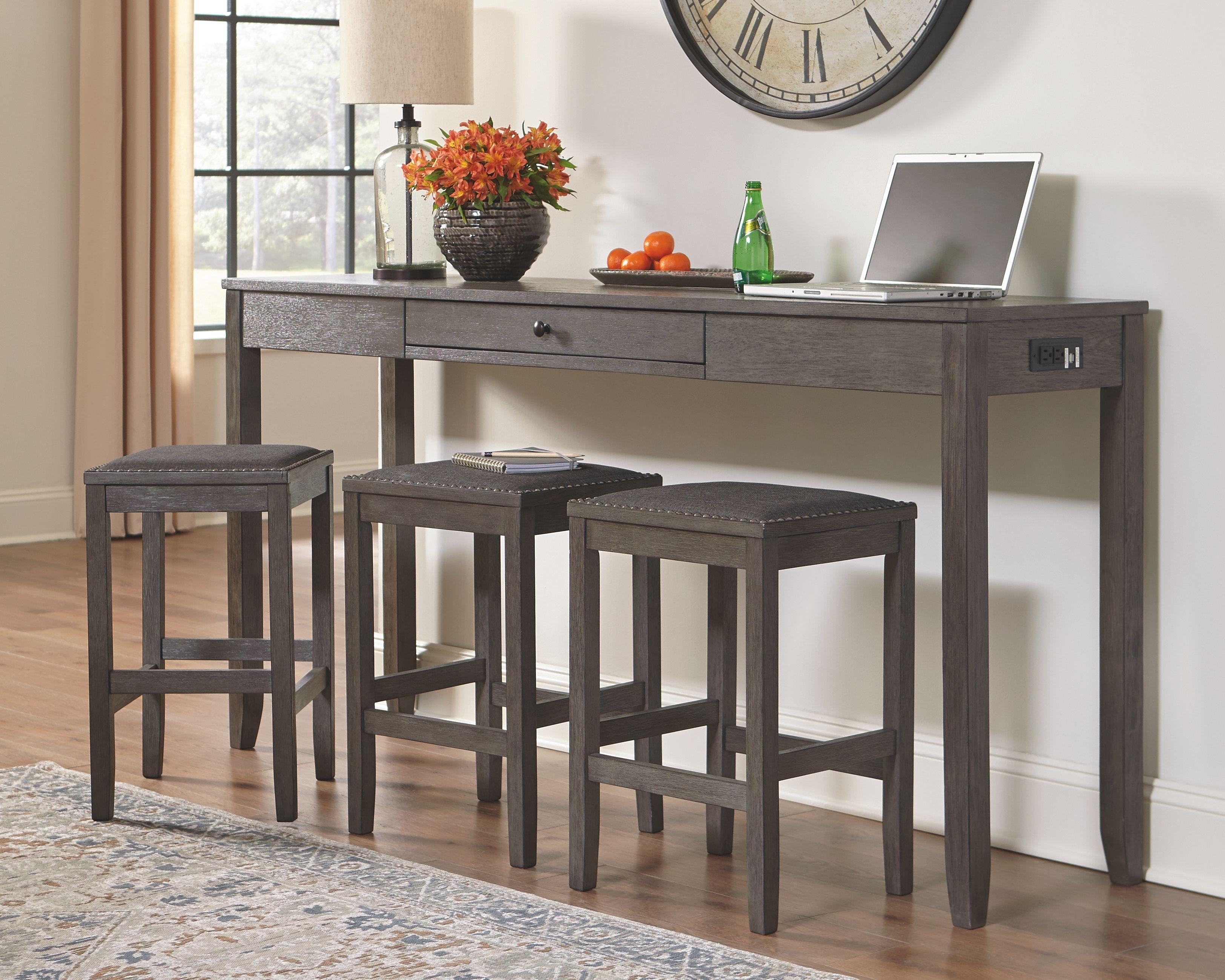 34+ Caitbrook gray rectangular counter height dining table Trending