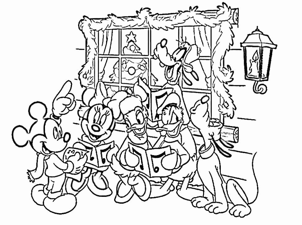 Coloring Pages Disney Christmas Inspirational Merry Christmas Coloring Pages Printable Az Coloring Pages