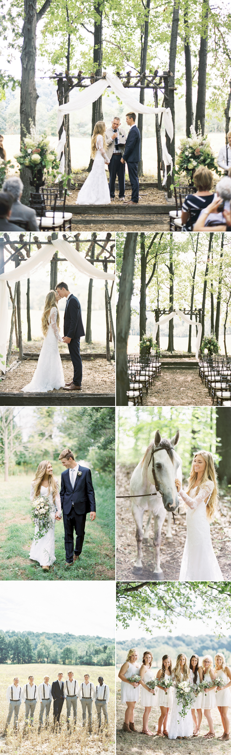 dreamy woodland weddings that are straight out of a fairy tale