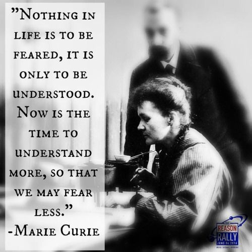Marie Curie | Meine Idole | Quotes, Science quotes und